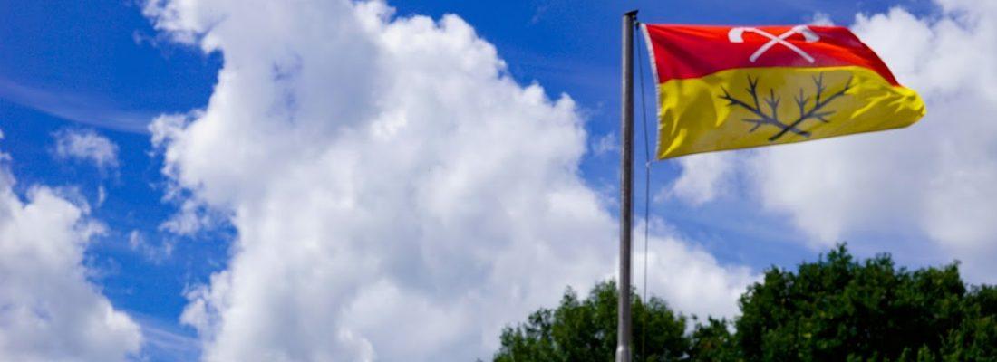 Flagge der Gemeinde Hagen