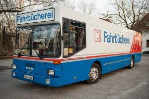 Fahrbücherei (Vormittags) @ Dorfhaus Parkplatz